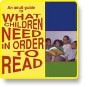 What Children Need in order to Read